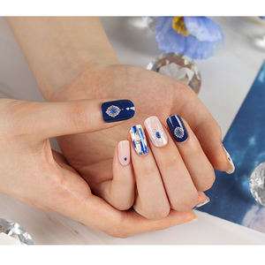 Korean Beauty High Quality OEM Gel Nail Strip Fashion Personal Care Nail Art Stickers