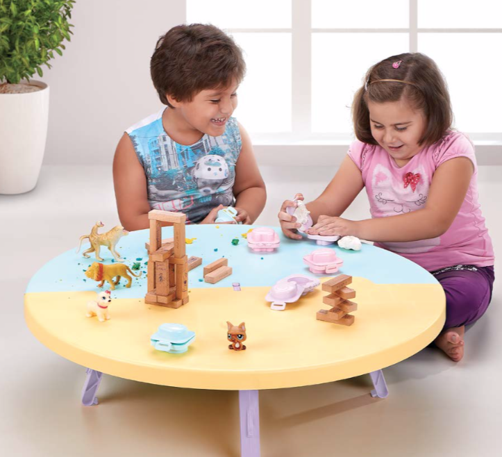 Kids Folding Tables Play Room Kids Furniture