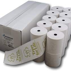 Veit EC Thermal Rolls 57 mm x 14 m x 12 mm Diameter Roll 35 mm BPA-Free 55 gsm , Suitable for Standard Cash Pill P
