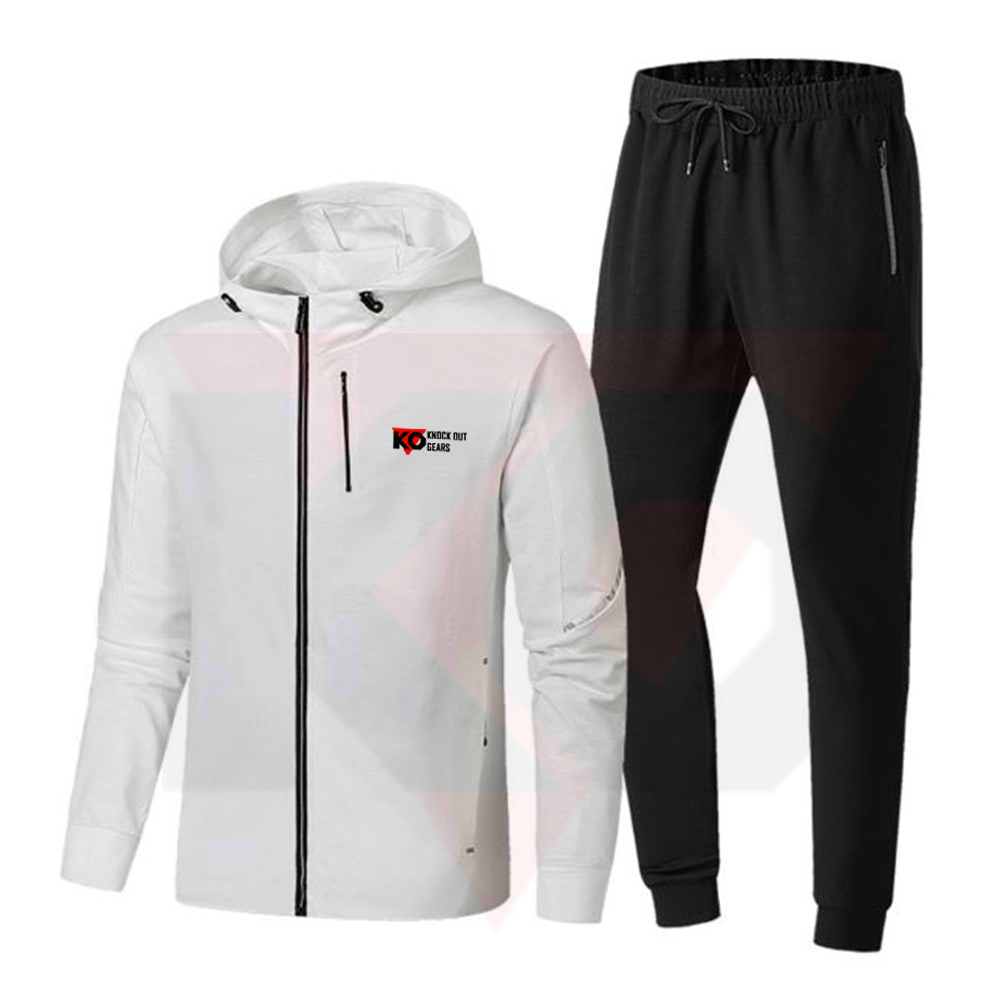 Top Selling Men Hoodie Sweat Suits Wholesale Blank Jogging Track Suits Made In Pakistan