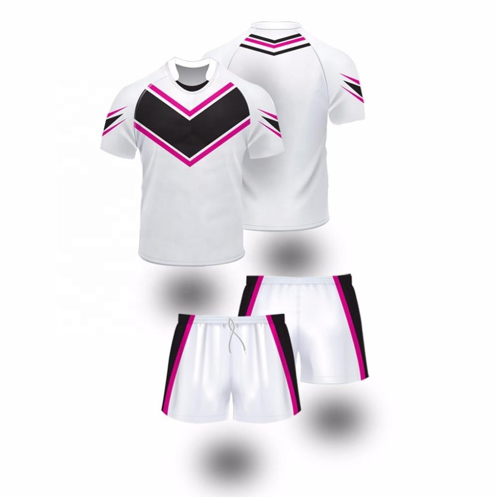 Cheap Rugby Shirts Shorts Sublimation Training Jerseys Custom Sport Wear Club Uniforms Kits Rugby Jersey