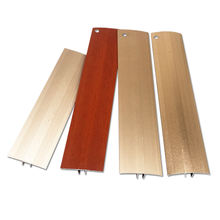foshan nanhai vinyl floor capping strip aluminum metal laminated threshold