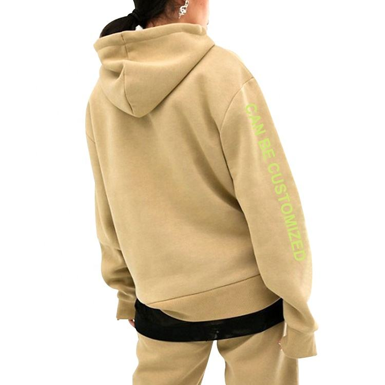 Custom High Quality Unisex Blank 100% Cotton Streetwear Pullover Wholesale Cut And Sew Hoodies Manufacturer