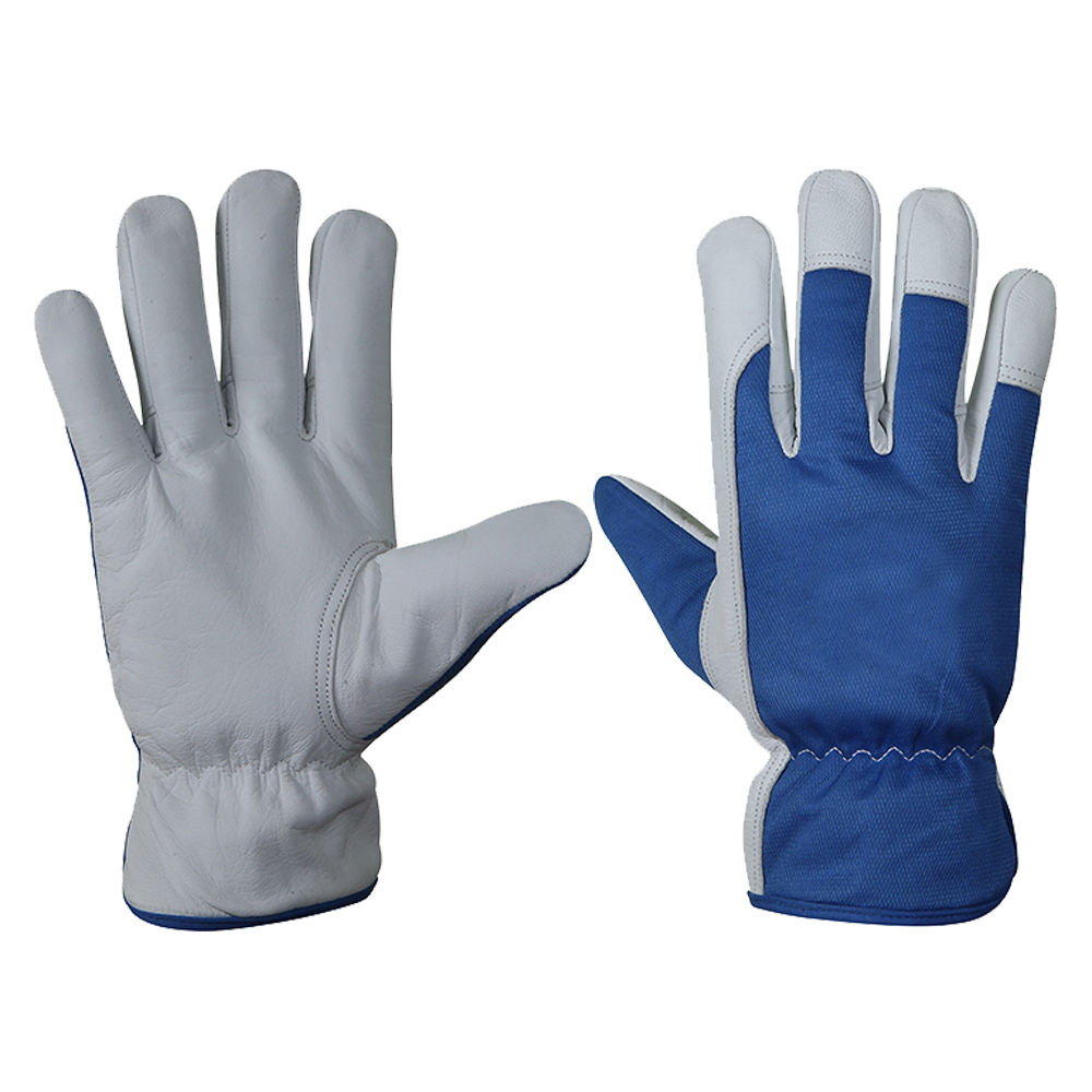 Goatskin Leather Work Gloves in All Sizes
