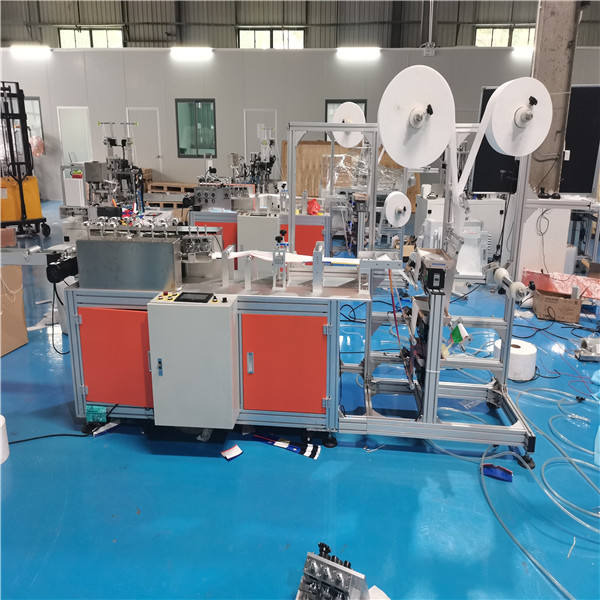 Fully automatic n95 mask machine dust mask making machine 3d mask machine