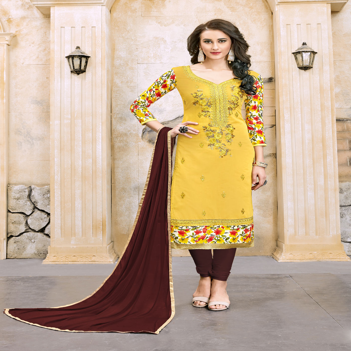 women's daily wear cotton salwar kameez