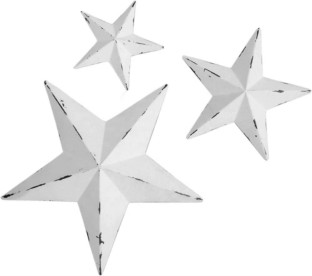 Metal Star Wall Decor Homeオフィス屋外キッチンBar Decoration Mounted Wall Art