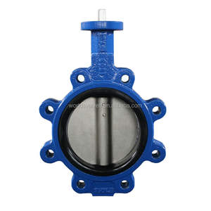 China Manufacturer Tianjin Worlds Lever Lug Type Butterfly Valve