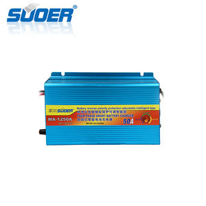 Suoer 12V 50 Amp Fast Smart Auto Solar Battery Charger