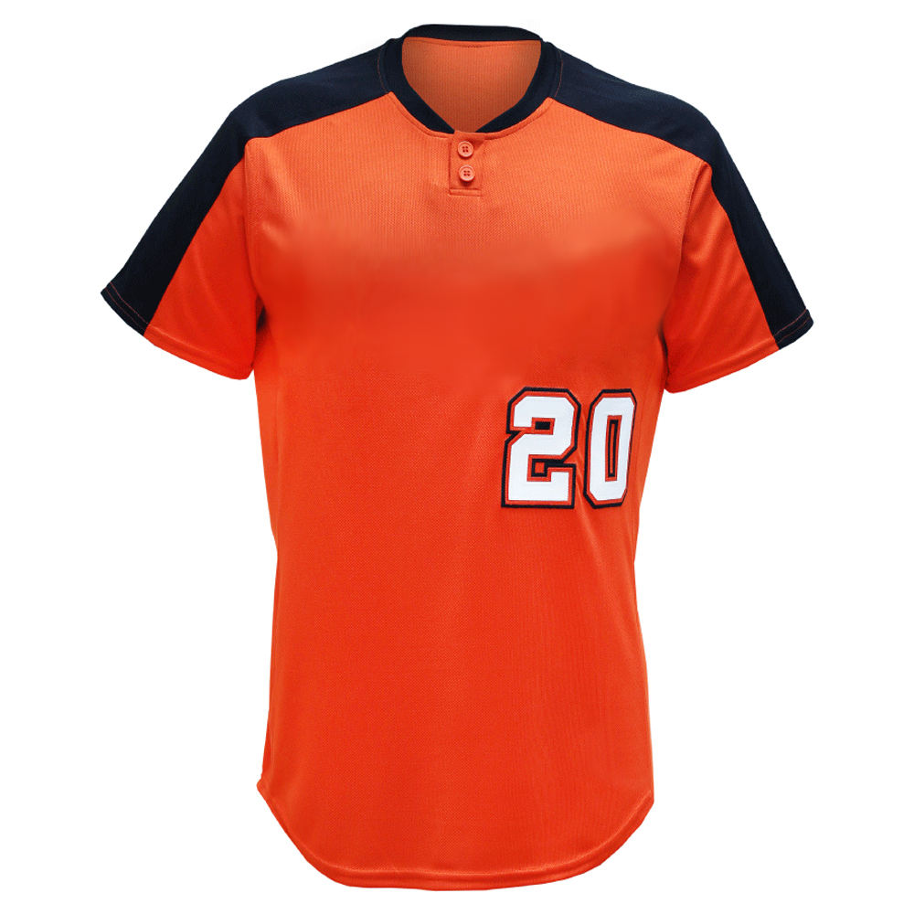 Sublimation 100% polyester baseball jersey base ball wear baseball uniform