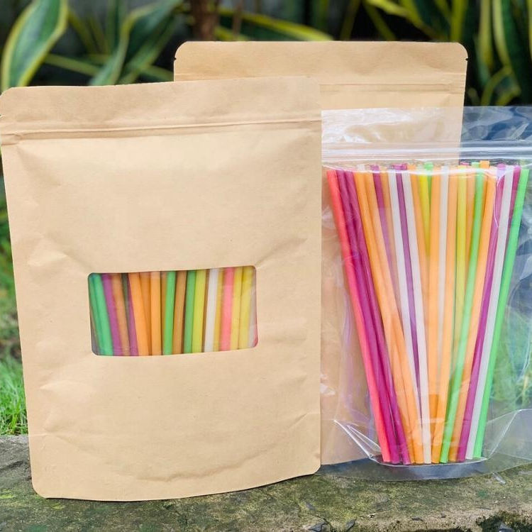 Eco-Friendly High End Factory Direct Sale Edible Organic Edible Rice Flour Drinking Straws from Vietnam