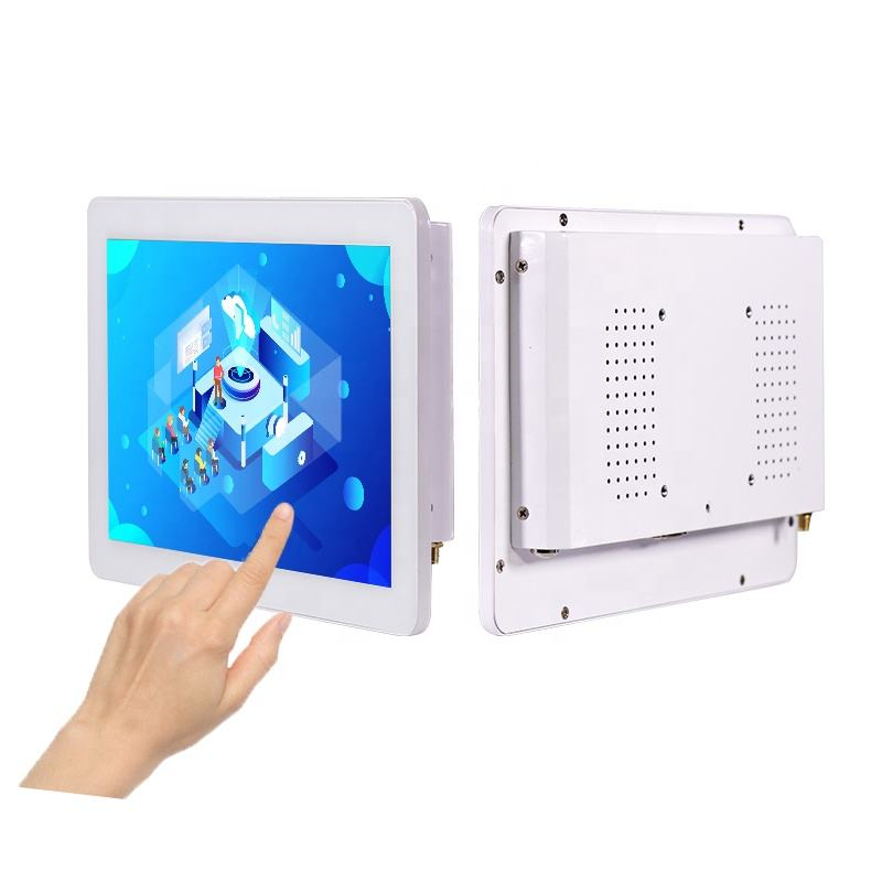 10.1 inch Quad J1900 capacitive touch panel pc with screen commercial LCD touchscreen all in one pc