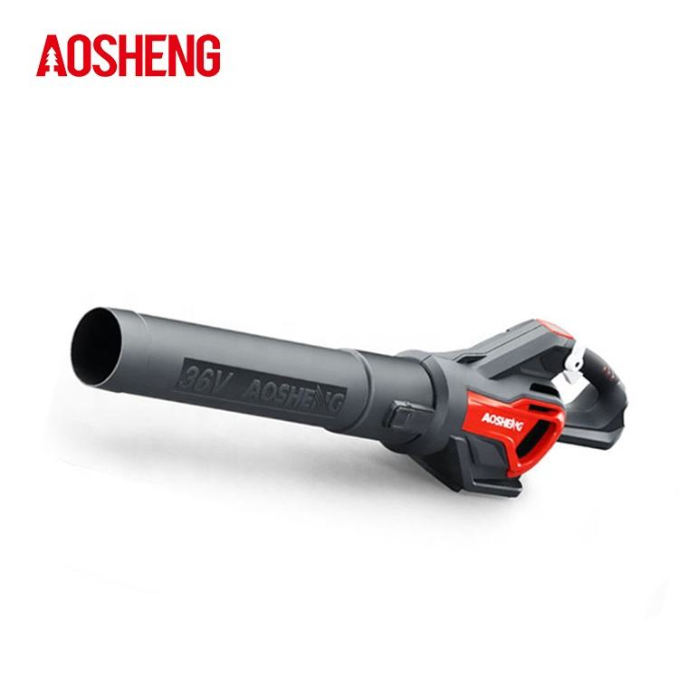 Low noise battery garden machines mini portable electric blower