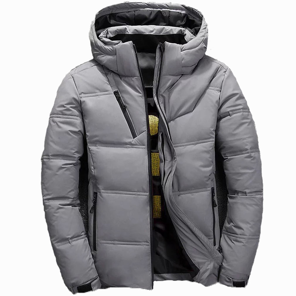 Men's Winter Down Quilted Vest Jacket Body Warmer Padded Jacket Coat