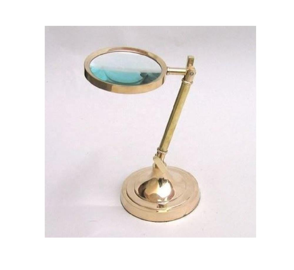 Magnifying Glass With Brass Adjustable Stand Manufacturer Wholesaler