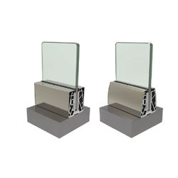 High Quality Modern Design Aluminium Glass Railing Systems Handrails Balustrades