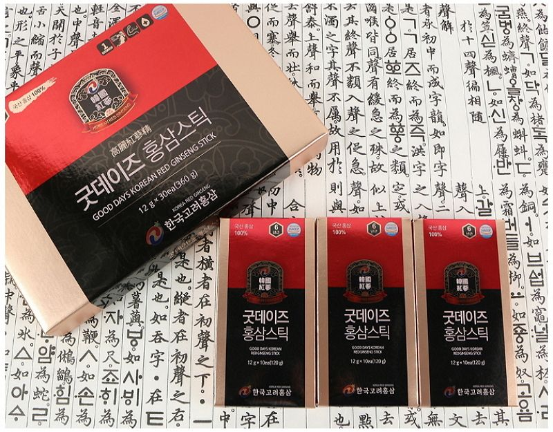 Korea Roter Ginseng Extrakt Flüssigkeit Stick <span class=keywords><strong>Gute</strong></span> Tage (12ml x 30ea)