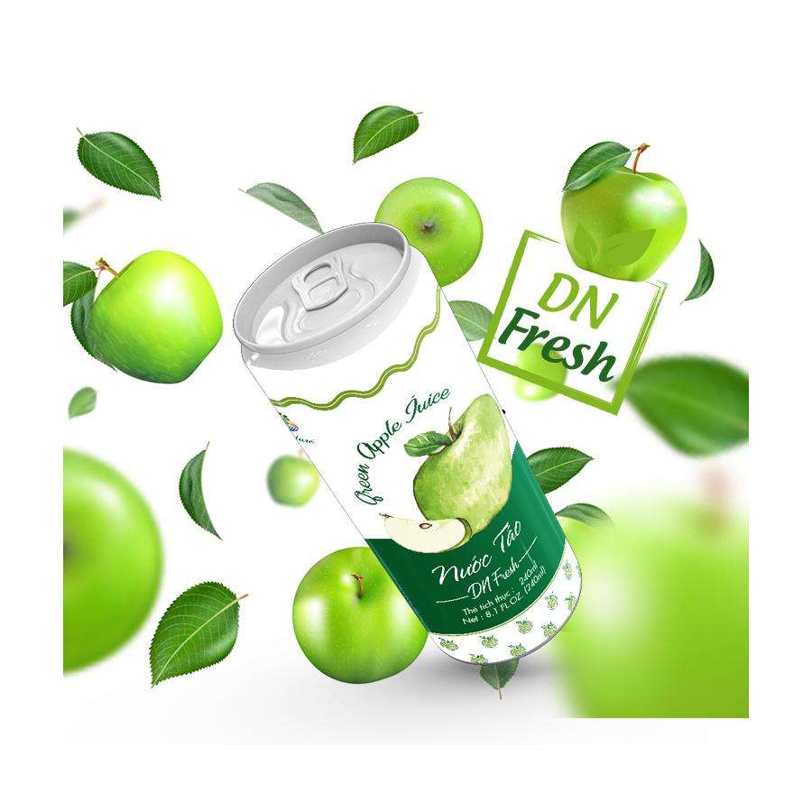 High-quality Tropical Fruit Juice from Vietnam/Green Apple Juice NATURE