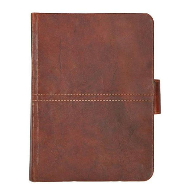Echt Olie pull Up Crunch Leather Journal Notebook Dagboek met Antieke Riem Slot voor Mannen en Vrouwen