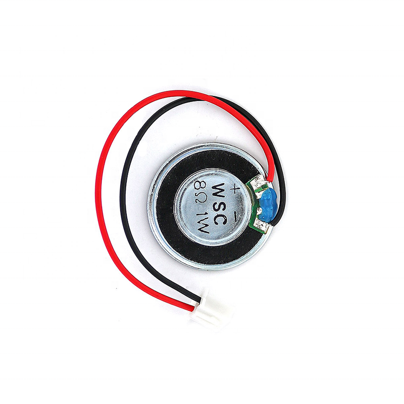 Taidacent Buzzer 8 Ohm 1 W 28mm Speaker Music System Amplifier Speakers Buzzer Loudspeaker Horn mit Magnetic XH 2.54 Cable