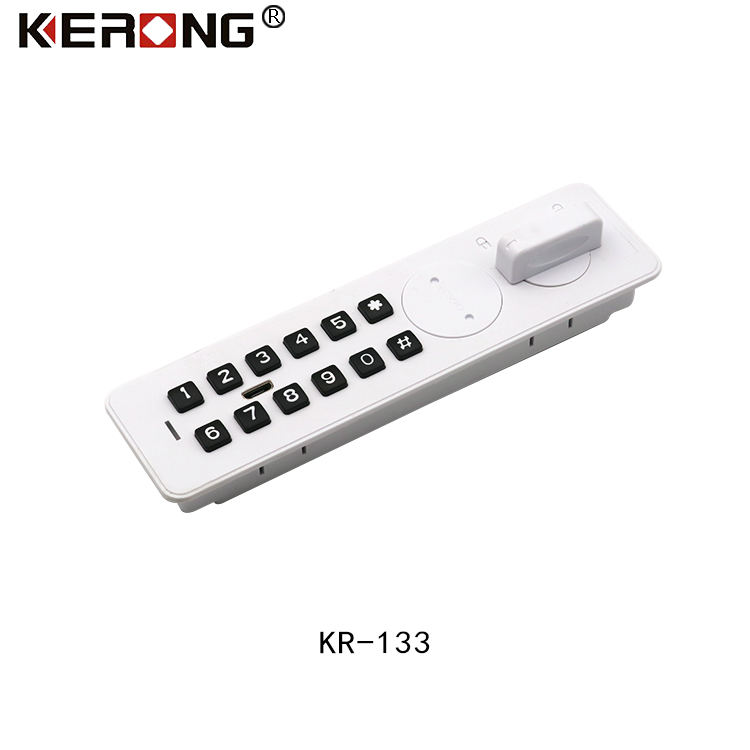 KERONG Number Lock Filing Cabinet 5 Digits Combination Lock for Wooden Cabinet Mental Locker Cam Latches