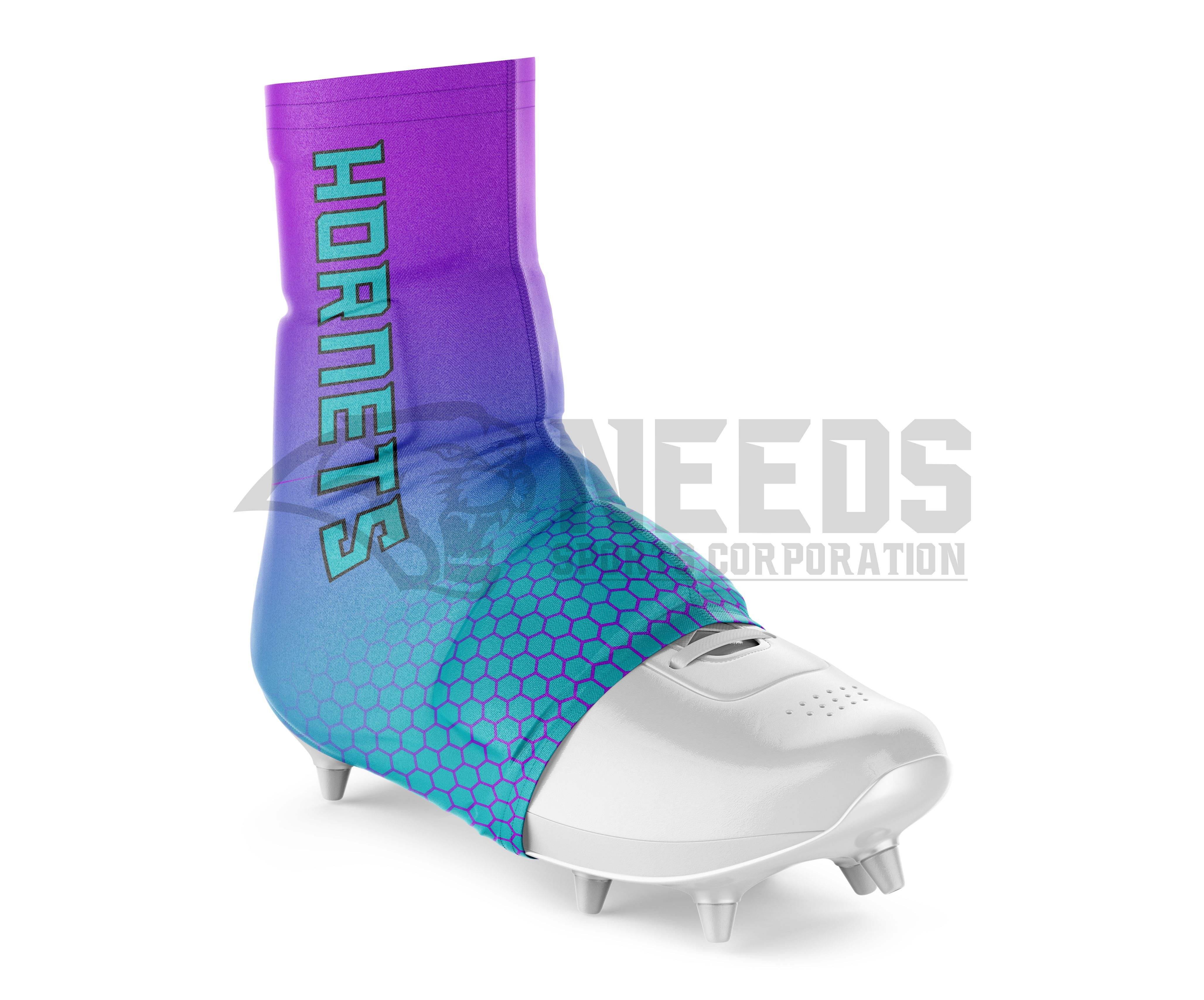 Top quality Custom Design American football spats, cleat covers