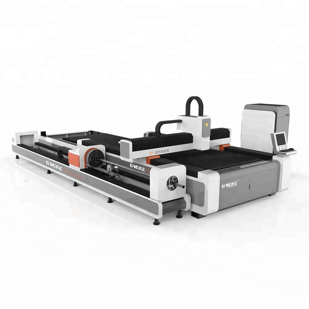 hot sale Gweike LF3015CR cheaper CNC fiber laser cutting machine