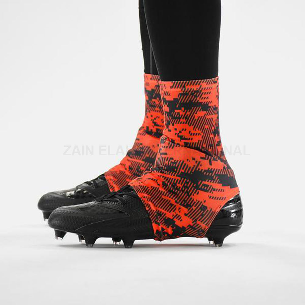High Quality Printing Football Cleats Covers Spats Pure OEM wholesale sublimation 2020