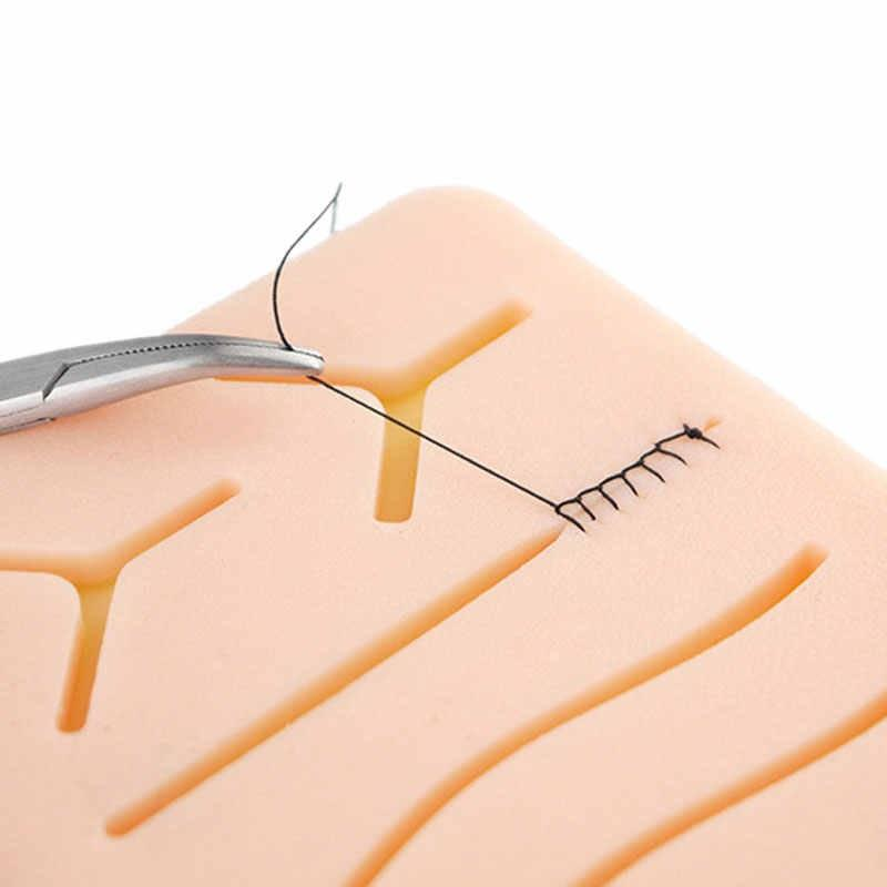 Silicone Skin Suture pad Surgical wound Suture Training Kit for medical teaching Practice training.