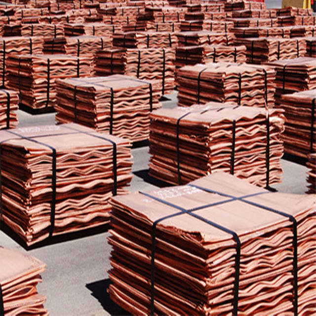 Electrolytic Copper Cathodes Manufacturers from China / Best Rate for copper cathodes for sale