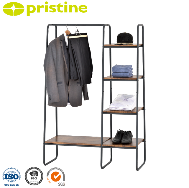 wholesale Taiwan manufacturer metal garment rack high gloss household furniture