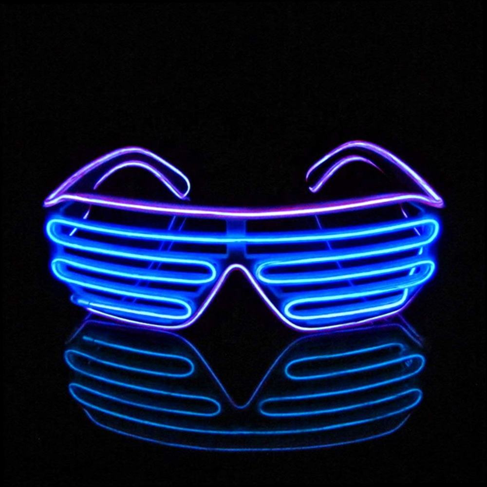 GlowにDark Glasses Light Up Glasses Led Shutter Glasses Event Party Supplies