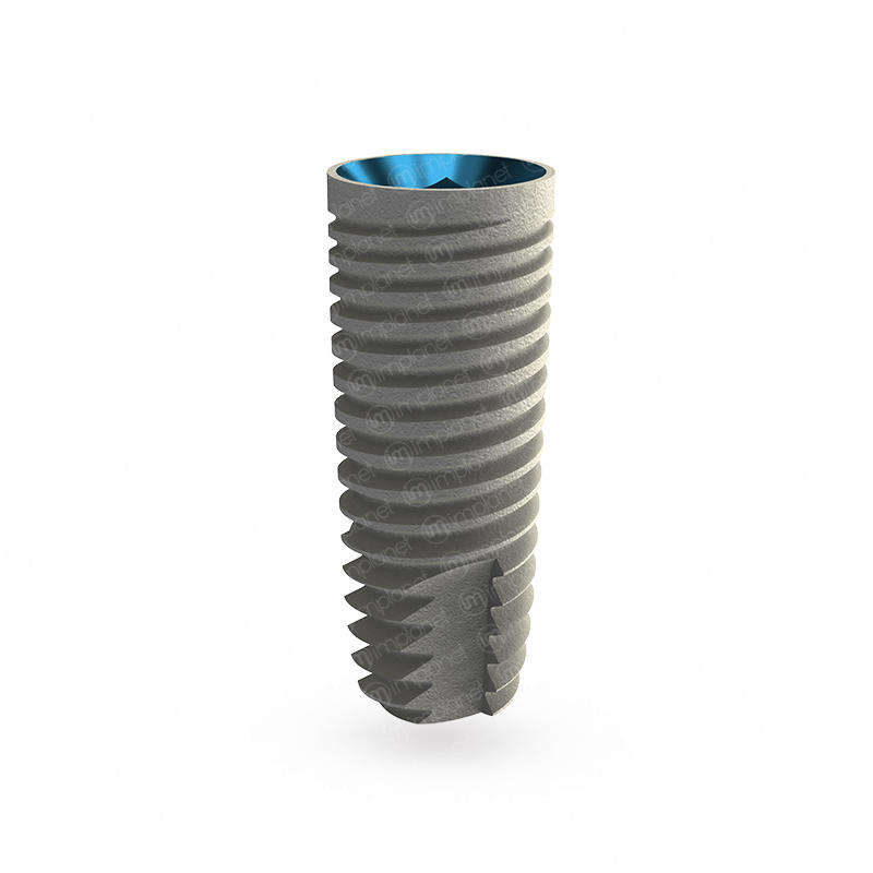 U-Razor Cylindrical Dental Implant - Internal Hex