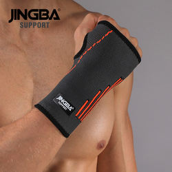 JINGBA SUPPORT Nylon High compression sports protection tennis wrist hand brace