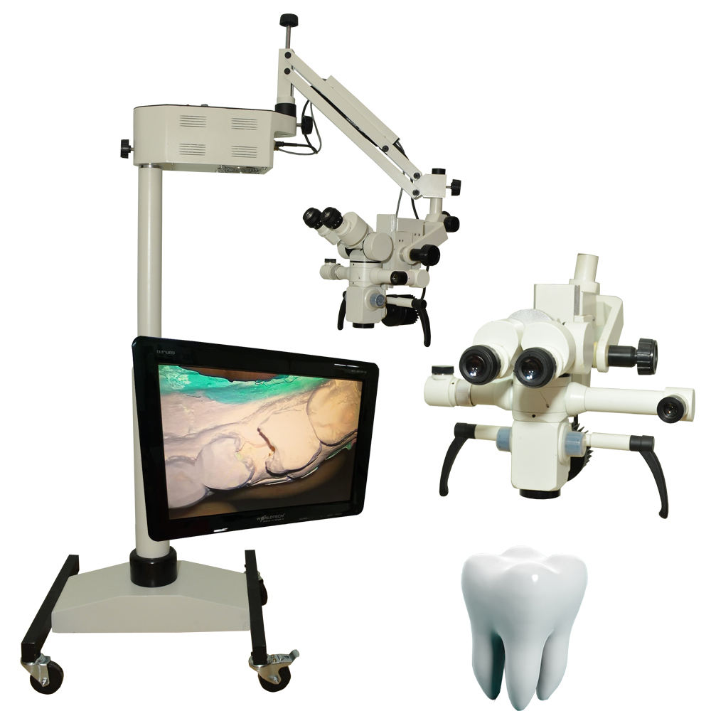 LED Operated Surgical operating dental microscope