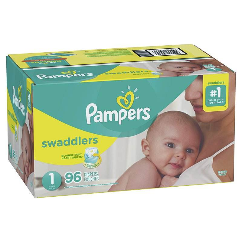 Pampers Baby Dry One-Month Supply Diapers for wholesale