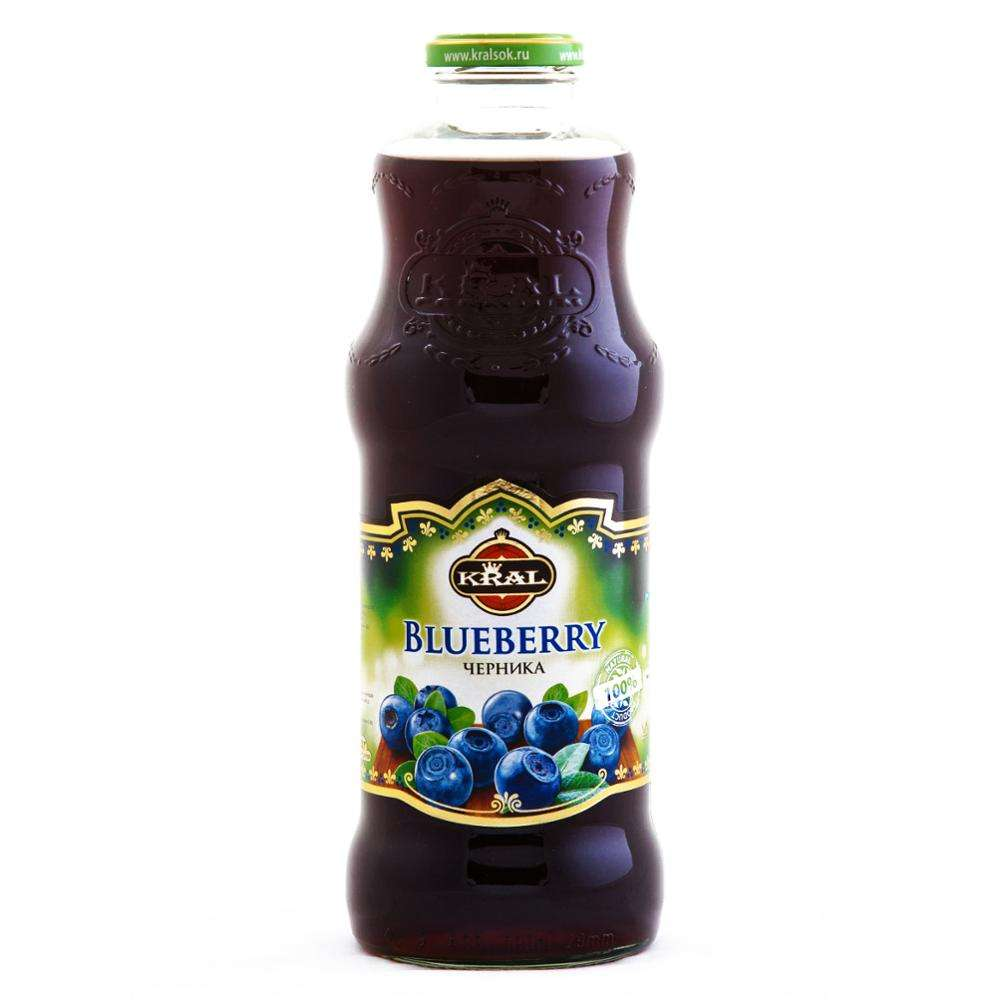 1000 ML Blueberry Nectar KRAL Blueberry Juice Drinks Fruit Juice Concentrate