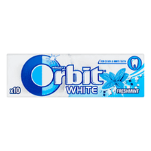 Orbit White  freshmint chewing gum 13.6g X 600 Russian Origin