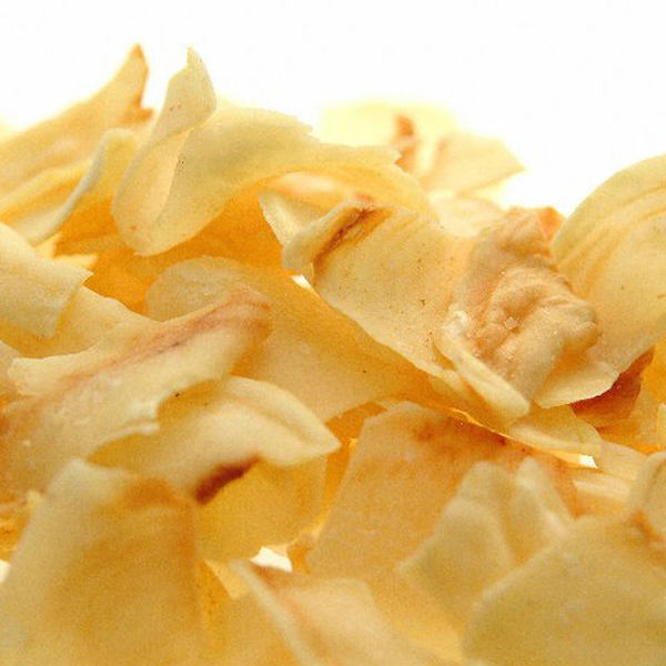 Organic dried durian chips
