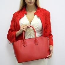 MAMAMILANO Italy Fashion Satchels Red leather bag women handbag on sale