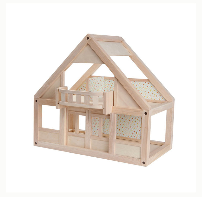 Cheapest Price Best Selective Safe Material Playful Gift For Kids Wooden Toy Doll House