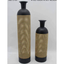 Metal vase flower pot Home decor Accessories