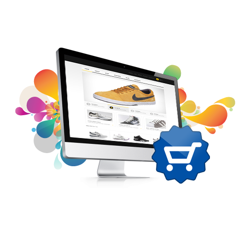 Online shopping website design and development