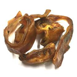 No Addition Natural Pig Ear Packed in Vacuum Bag best for dog or pet available