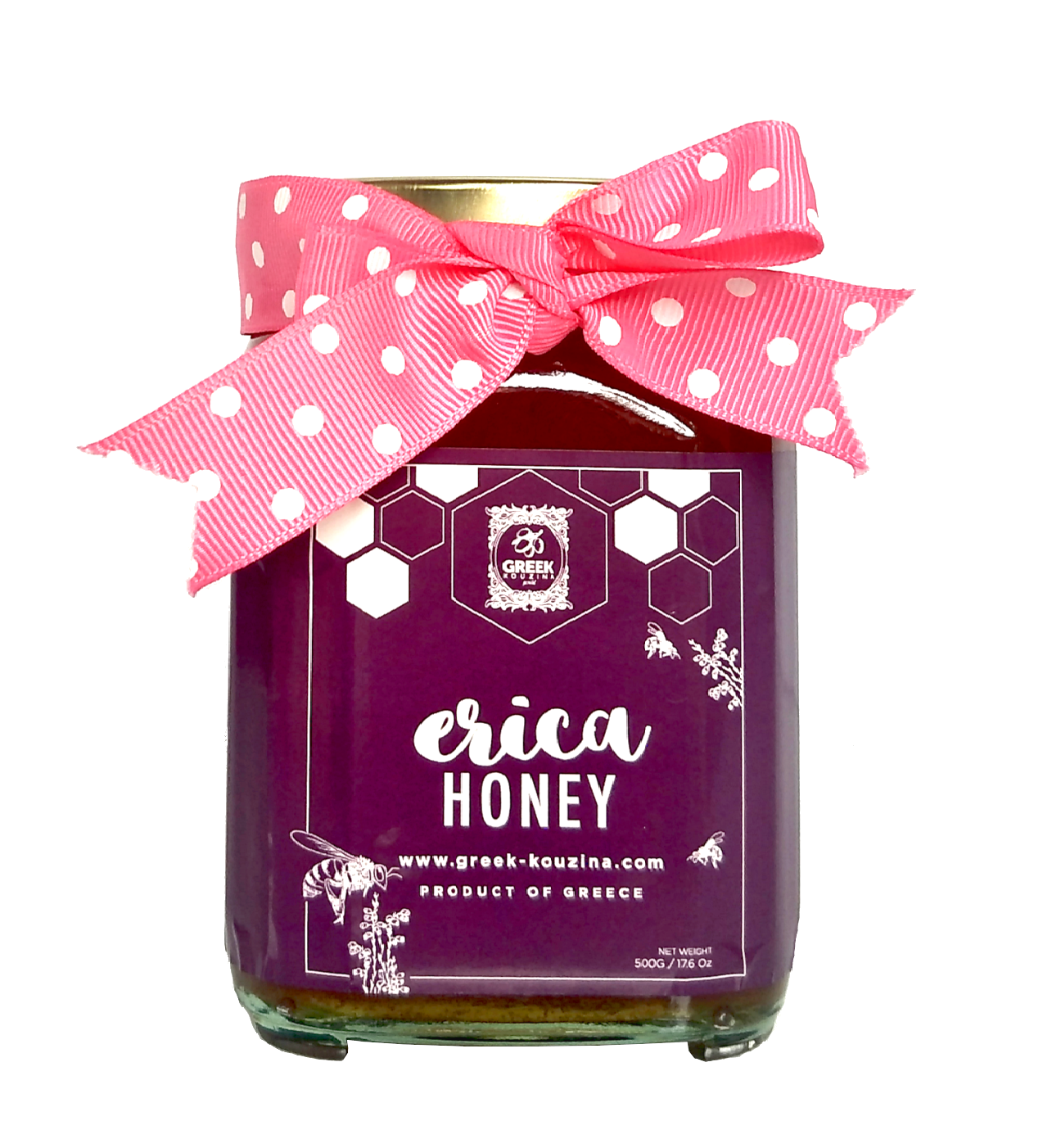 Top Selling Erica Honey 0.5 KG Jar With Grade AAA Made Of 100% Raw Erica Honey At Good Bulk Price