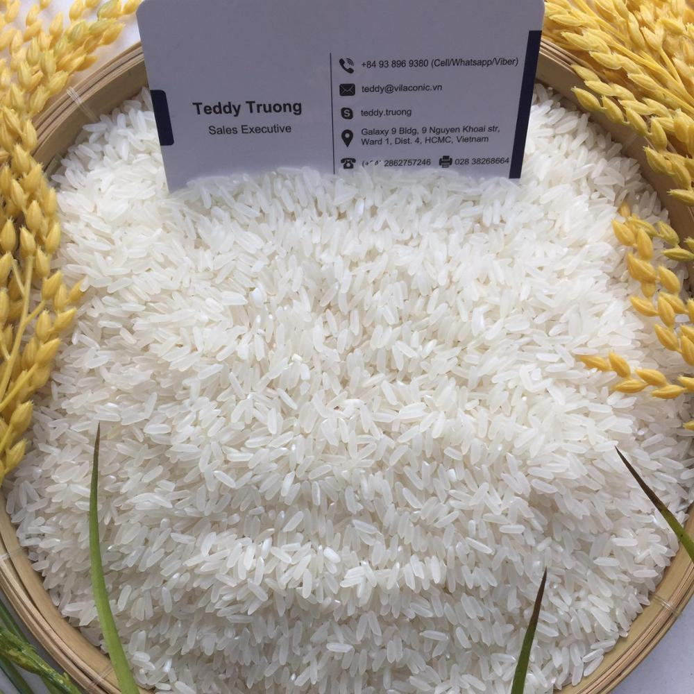 Vietnam Jasmine Long Grain White Rice/ Fragrant Rice 5% Broken/ Riz Perfume au Jasmin / Best Supply Rice to Middle East, Africa