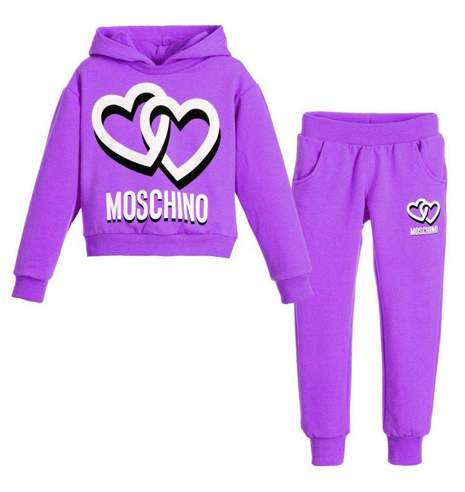 FZ-5195 Wholesale Custom Logo OEM Warm Up Kids Teen Sweatshirt Tracksuit Jogging Training Gym Casual Sports ActiveWear Tracksuit