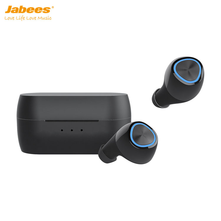 2020 Best True Wireless Earbuds BNA1 by Headsets Manufacturer Jabees Noise Cancelling Bluetooth Sport Headphones with Touchpad