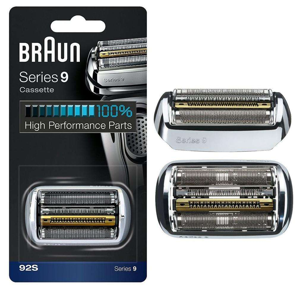 SERIES 9 (92S/92B) Braun Electric Shaver Replacement Foil Cassette Cartridge