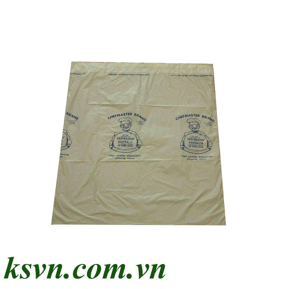 HDPE drawtape, plastic drawstring heavy duty garbage trash roll bag